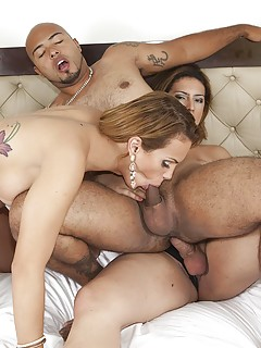 Shemale Threesome Pics