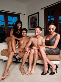 Have thought shemale group sex touching